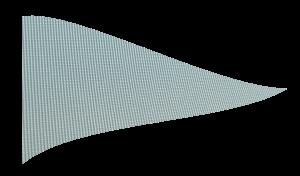 110 g-os hurkolt poliészter zászlóanyag